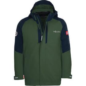 TROLLKIDS Skanden 3in1 Jacket Kids, groen/blauw